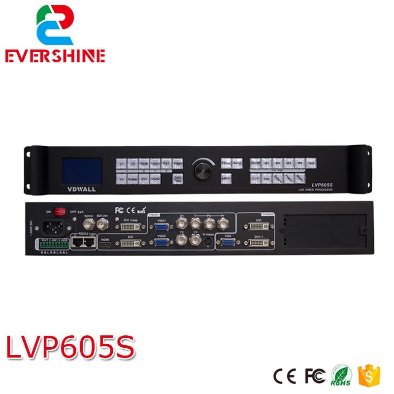 VDWALL LVP605S LED displejs VIDEO sienas procesors ar paplašinātu SDI / HD-SDI modeli liela LED ekrāna īrei