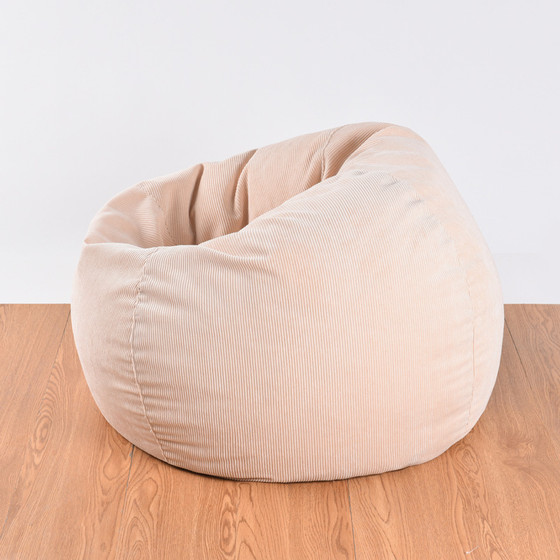 Awesome Living Room Chair Soft Corduroy Bean Bags And Lounge Chairs Frankydiablos Diy Chair Ideas Frankydiabloscom