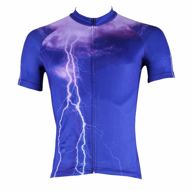 ILPALADINO Summer Cycling Jersey Men s Short Sleeve Orange Wide Stripes  Maillot Ciclismo MTB Mountain Bicycle Racing 243748144