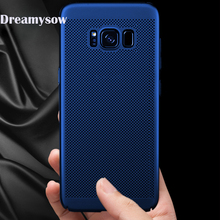 Breathable Case For Samsung Galaxy J4 J6 J8 A6 Plus  A8 Plus 2018 S8 S9 Plus Note 8 S6 S7 Edge Heat Dissipation Back Cover Shell