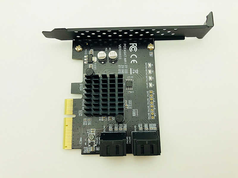 Marvell 88SE9230 SATA PCI Express 4 porty karta rozszerzeń kontroler SATA PCI-E Raid karty PCI E do SATA3.0 Adapter konwerter karty