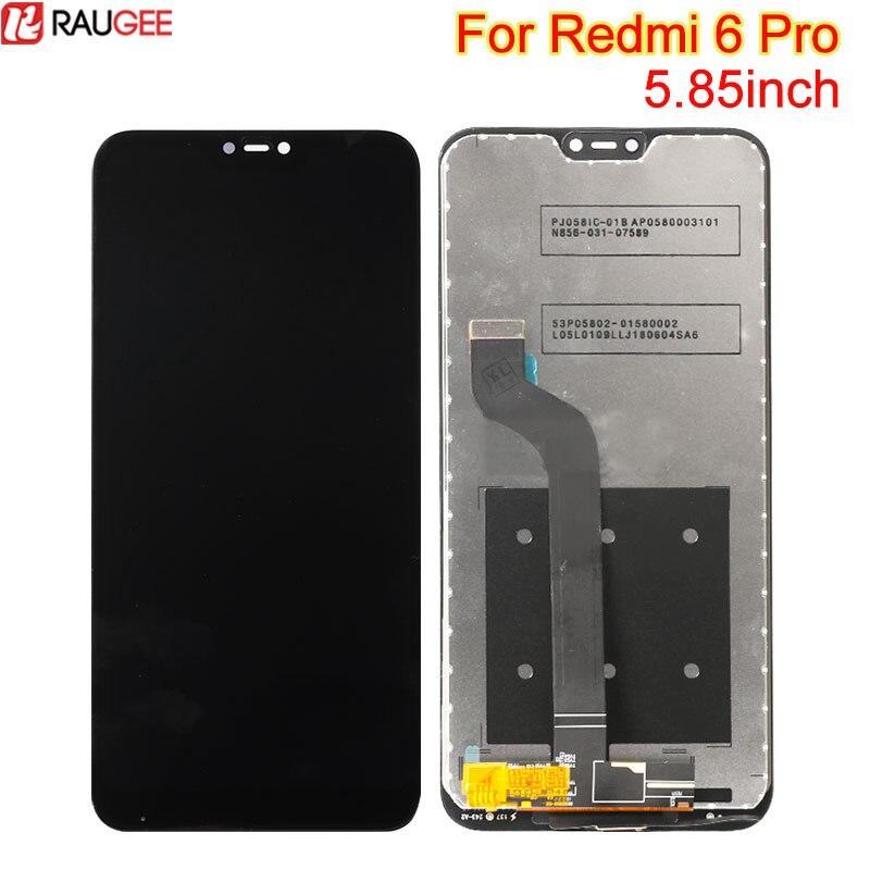 Pour Xiaomi Redmi 6 Pro LCD Affichage Écran Tactile Bon Test 5.84 pouces Tactile de Remplacement Panel Digitizer Pour Redmi 6 pro lcd affichage