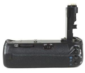 Image 3 - JINTU prise de batterie puissance pour Canon EOS 70D 80D DSLR appareil photo + 2 pièces Recharge LP E6 kit de batterie BG E14 de remplacement
