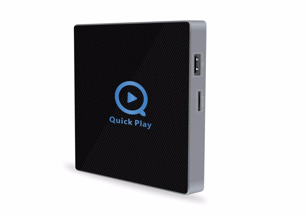 Android 6.0 2GB RAM 16GB ROM QII TV Box Amlogic S912 Octa Core QII Streaming Smart Media Player Dual WiFi BT4.0 4K IPTV box KODI smart android tv box zidoo x6 pro octa core hd 4k 3d 2gb 16gb h8 m8s network media player hdmi 2 0 bluetooth 4 0 dual wifi kodi