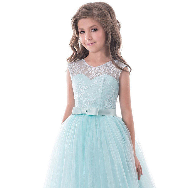 Online Shop Baby Girl Birthday Wedding Pageant Dress Kids Prom Gown ...