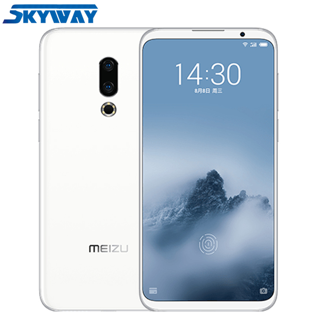 "Original Meizu 16th Plus 16 Plus 4G LTE Snapdragon 845 Octa Core Adreno 630 6GB 128GB 6.5"" FHD 2160x1080P Full Screen Cell Phone"