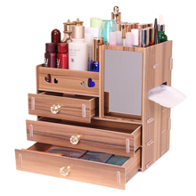 Hoomall Handmade Cosmetic Storage Organizer Box Jewelry Container Wood Drawer Organizer DIY Wooden Storage Box Makeup  sc 1 st  AliExpress.com & Buy storage box 110l and get free shipping on AliExpress.com