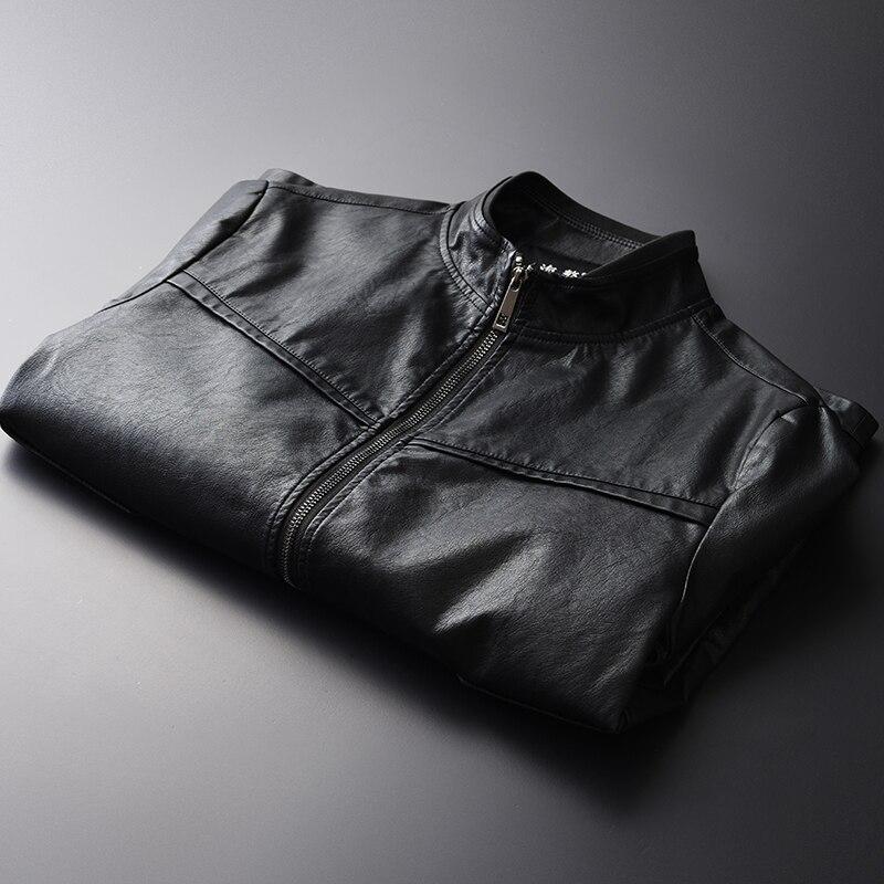 Noir Classique Moto Pu Style En D'hiver Vêtements Hommes Hp1711 Cuir Vestes qIxvTA4