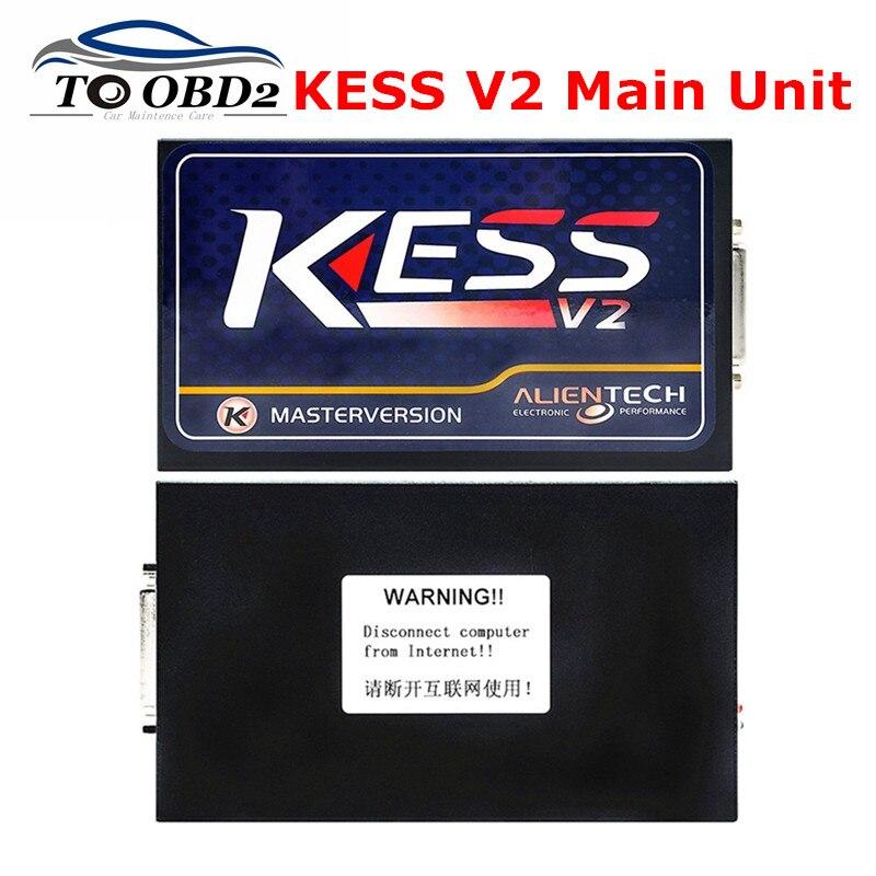 Цена за Лучшее Качество Стабильный Основной Блок KESS V2 Мастер Версия HW4.036 SW2.30 KESS Адаптер Продажа Только Бесплатно Предоставить Программное Обеспечение Веб-Ссылку