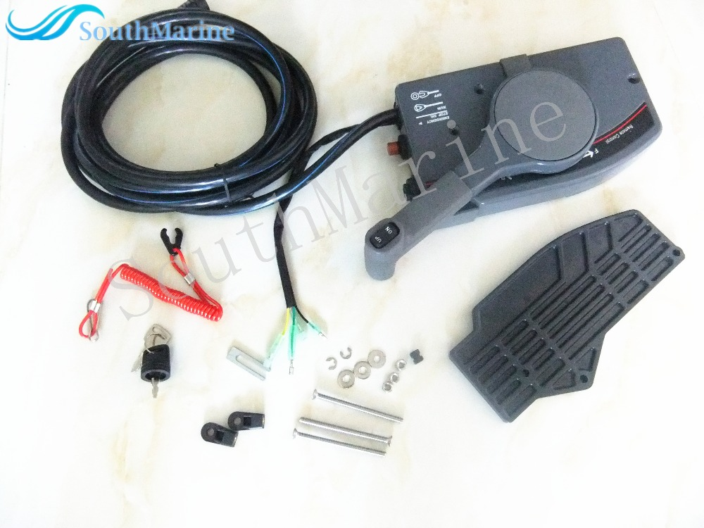 703 48207 11 00 703 48205 14 00 10p outboard remote for Trolling motor remote control