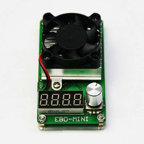EBD-M03+ electronic load tester lithium battery capacity mobile power charging head discharge test battery capacity tester resistance testing mobile power lithium lead acid battery can be 18650 serial line 20w