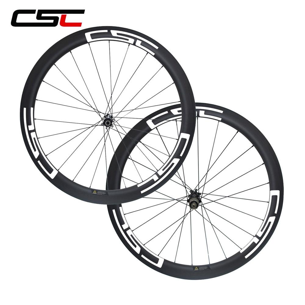 CSC Disc Brake D411SB D412SB Straight Pull 50mm Cyclo Cross Bicycle Wheels 15mmx100 12mmx100 12x142mm Thru