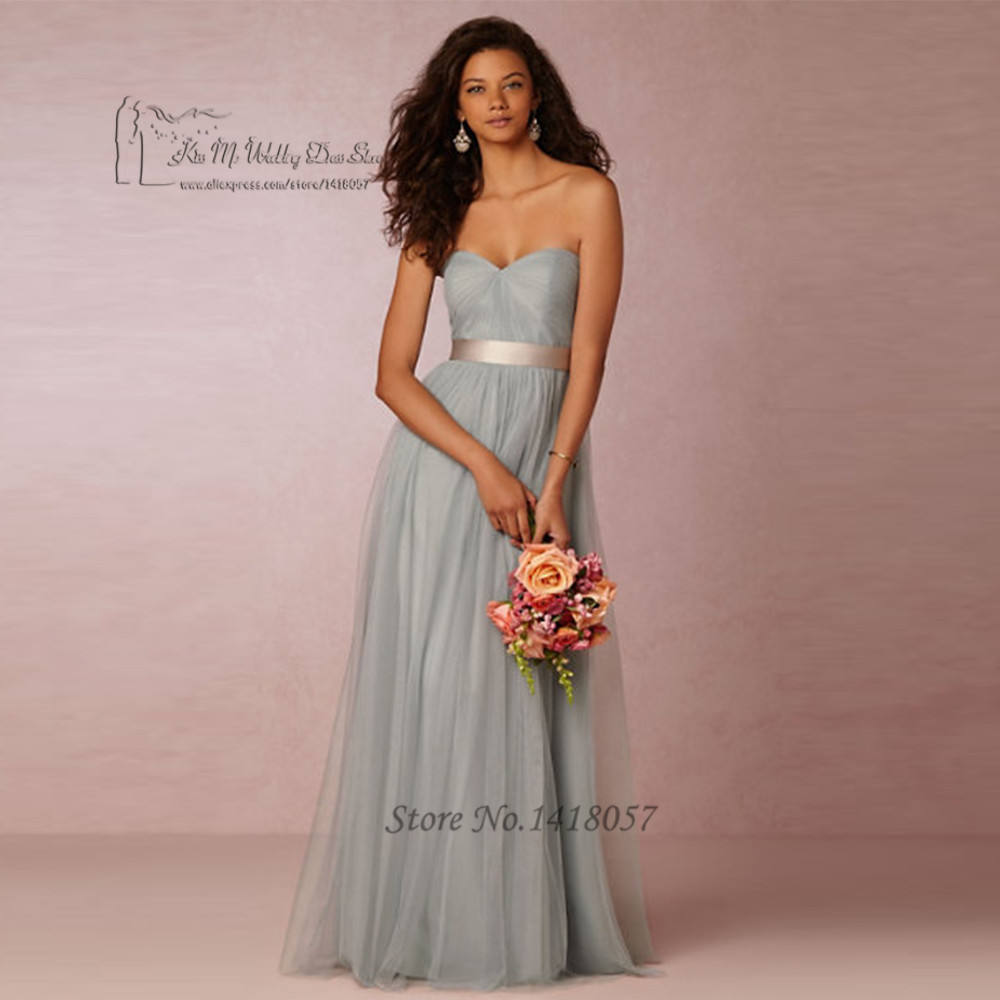 Greek style tulle mint green bridesmaid dresses long floor for Mint wedding guest dress