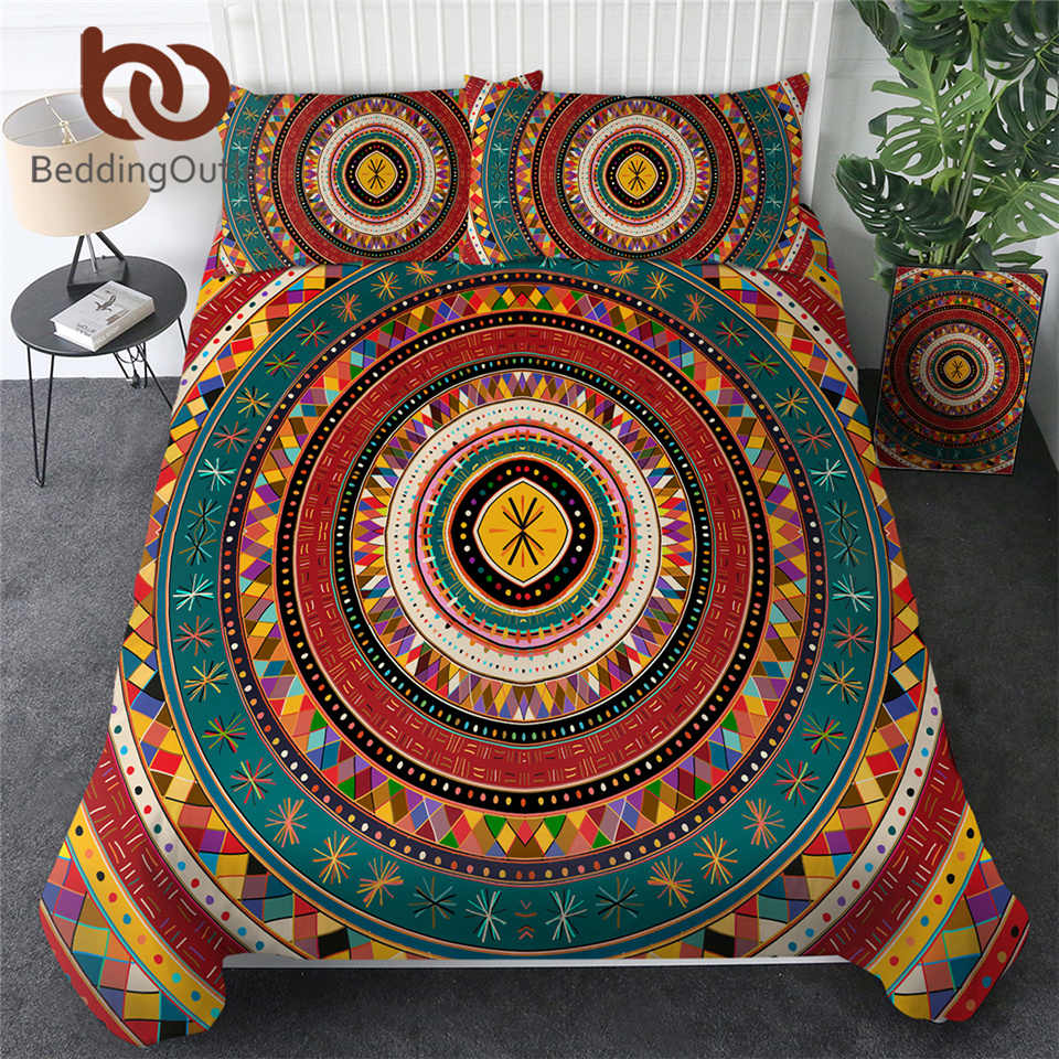 Beddingoutlet Aztec Duvet Cover Set African Bedding Set Folkloric Tribe Circles Bed Linen Ethnic Colorful Bed Cover Beddengoed Bedding Sets Aliexpress