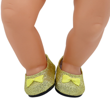 15 Styles Lovely Leather Shoes Fit 43cm Baby Born Doll and 18 Inch American Girl Dolls BJD Doll Shoes X-203