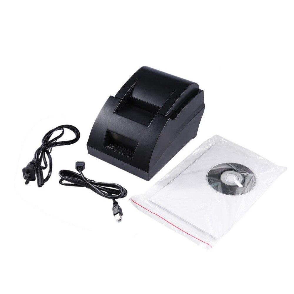 Porta USB 58mm POS-5890C Impressora de Recibos Térmica com Baixo Ruído de Alta-Velocidade de impressão para Todos Os Tipos de Empresas Comerciais de Varejo sistemas POS