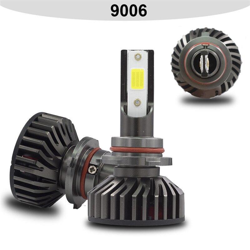 HTB106okd81D3KVjSZFyq6zuFpXaI YHKOMS Mini Size Car Headlight H4 H7 LED 3000K 4300K 5000K 6500K 8000K 25000K H1 H8 H9 H11 9005 9006 LED Bulb Auto Fog Light 12V