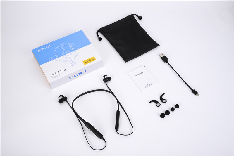 Wavefun Flex Pro Bluetooth 5.0 Earphone Fast Charging 6