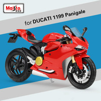 Maisto for DUCATI 1199 Panigale Motorcycle Simulation Model Offroad Motorbike Model Motocross Racing Motor Scale Model Toys 1:12