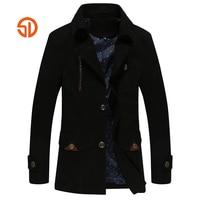 Suit Jacket Men Casual Autumn Winter Blazer Male Solid Color Mens Suit Water Wash Jackets Fashion