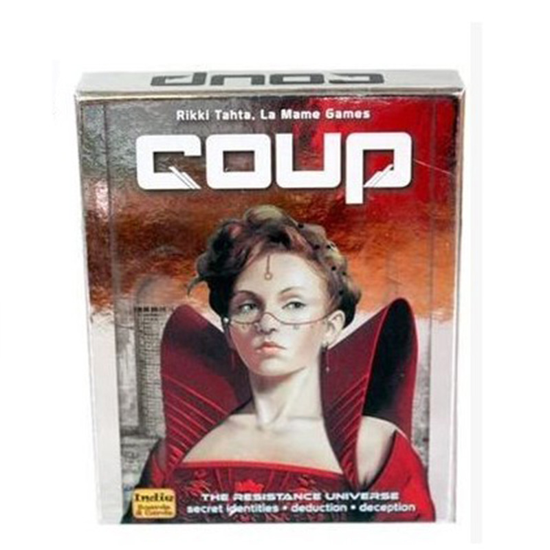 Coup Reformation Board Game 2-6 Players For Party/Family ,English And Chinese Edition Easy To Play Free Shipping