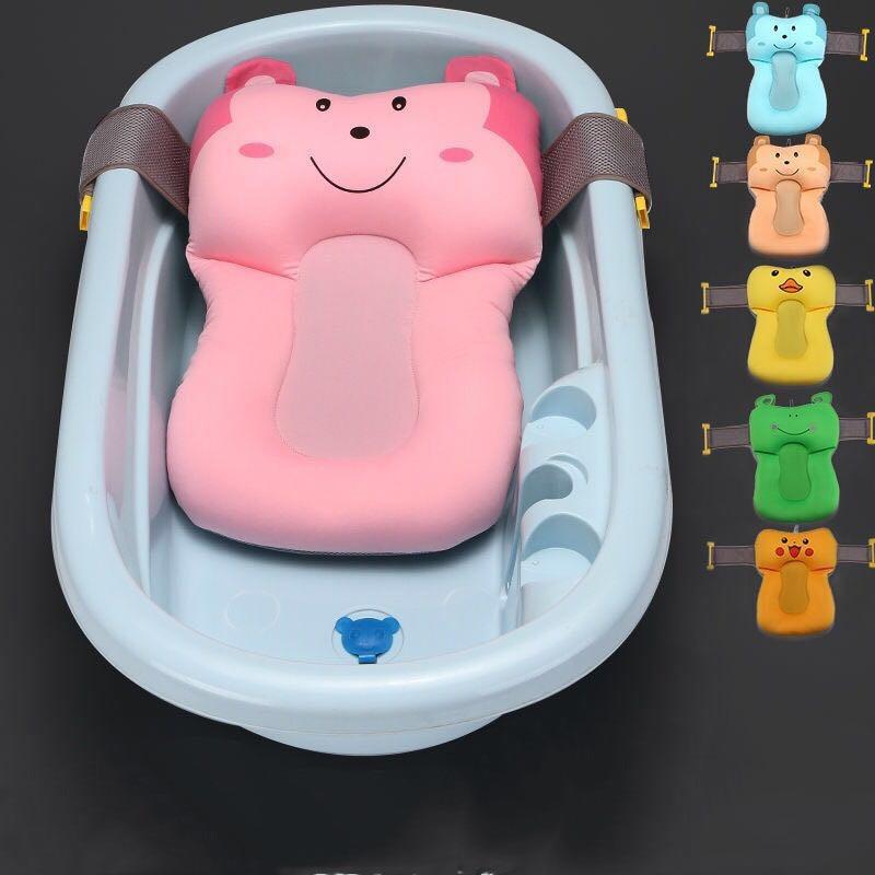 1 Pc Baby Pflege Produkte Niedlichen Tier Baby Bad Kissen Neugeborenen Baby Badewanne/kissen/matte Infant Babys Bad Sitz Unterstützung # Tc Extrem Effizient In Der WäRmeerhaltung