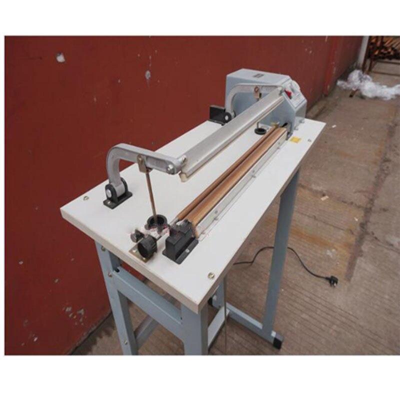 Foot Pedal Impulse Plastic bage Sealer Heat Sealing Machine package shrinking for food electrinic beverage packaging use