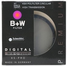 B + W HT KSM MRC CPL Digitais 49 52 58 62 67 72 77 82mm Polarizador Filtro CIR-PL Multicoat Para Lente Da Câmera