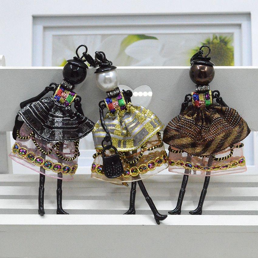 Nyaste ankomst mode docka halsband smycken försäljning härlig - Märkessmycken - Foto 2