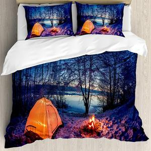 Forest Duvet Cover Set Dark Ni