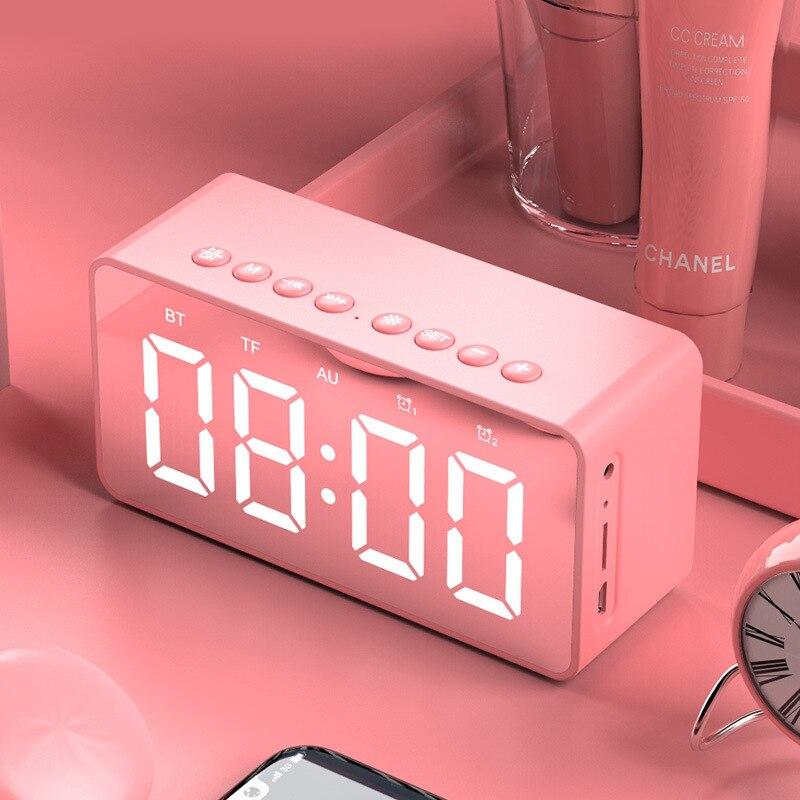 Bluetooth Lautsprecher Mini Digital Wecker Mp3 Intelligentes Audio Subwoofer Consumer Electronics