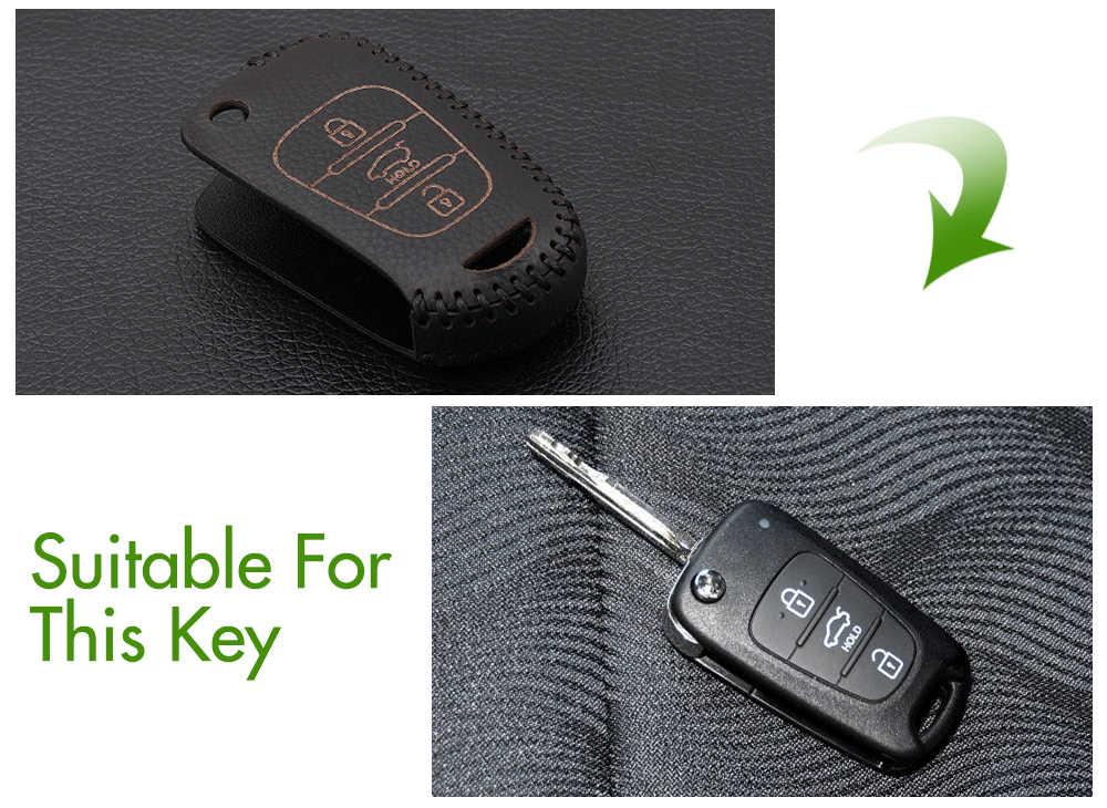 Натуральная кожа Флип Складные ключа автомобиля чехол держатель Защита мешок для Kia Rio K2 K5 Sportage Sorento SOUL Pro ceed Cerato