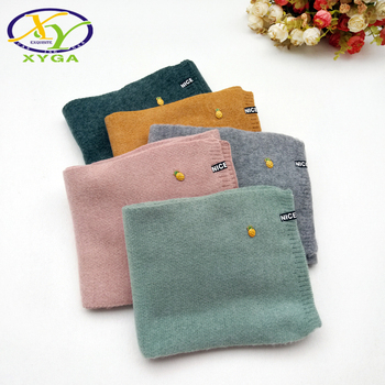 1PC Children's Imitated Cashmere Scarves Soft Warm 2018 Winter Boys and Girls Wraps Child Baby Kids Imitated Cashmere Long Scarf