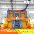 Inflatable Biggors PVC Inflatable Slide Double Line Kids Jumping House Commercial Trampoline