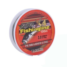 купить 100M Line Super Strong Nylon Fishing Line 4 Strands PE Braided Line High Quality Material Fishline for Carp Fishing Line Pesca онлайн