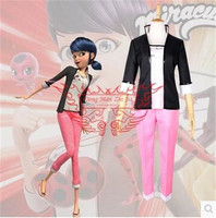 New Miraculous Tales Of Ladybug Cat Noir Adrien Agreste Cosplay Costume Miraculous Ladybug Costume Include Top