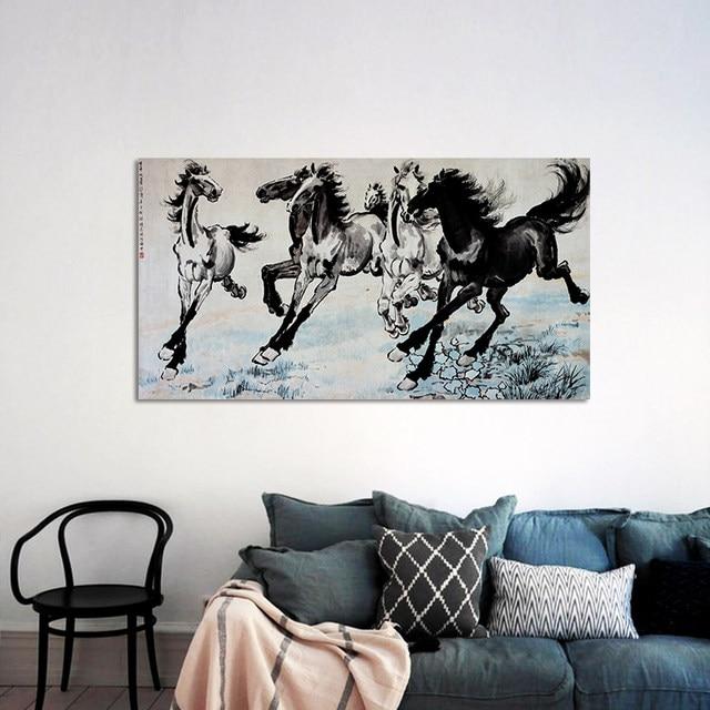 Online Shop Beroemde Chinese Schilderijen Rossen decoratie wall ...