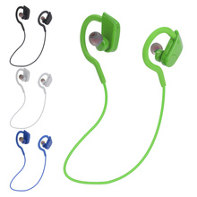QAIXAG سماعة لاسلكية تعمل بالبلوتوث CSR برنامج في الأذن الرياضة سماعة رأس بخاصية البلوتوث ملحقات الهاتف أسود أبيض أزرق أخضر