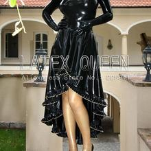 adult charming latex dresses for party high quanlity