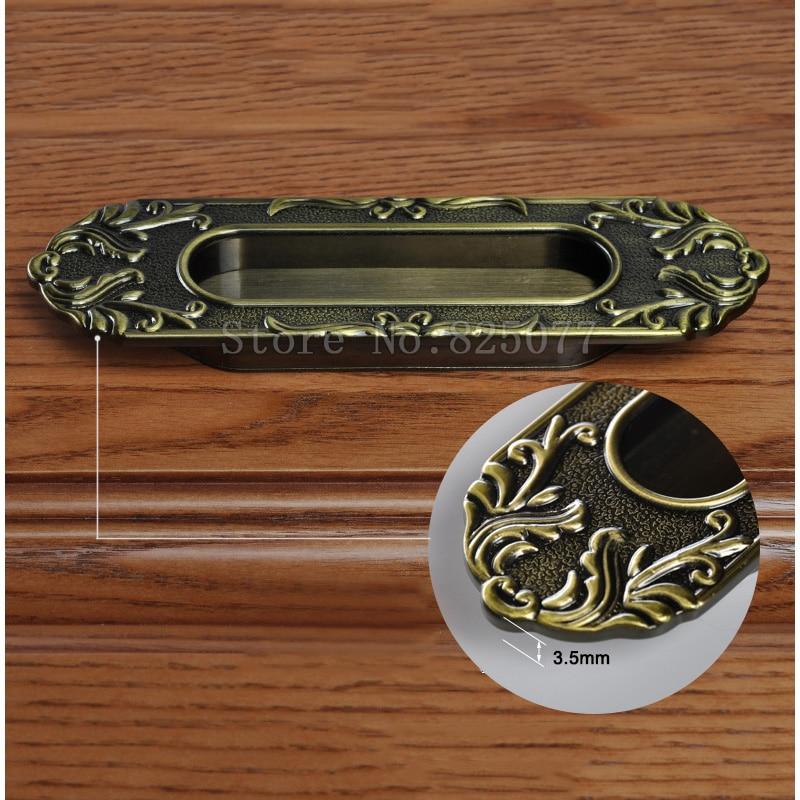 8 шт. невидимые наручники шкаф ручки ящика Шкаф для мебели кухонные ручки для шкафов рукоятки и ручки JF1410 - 5