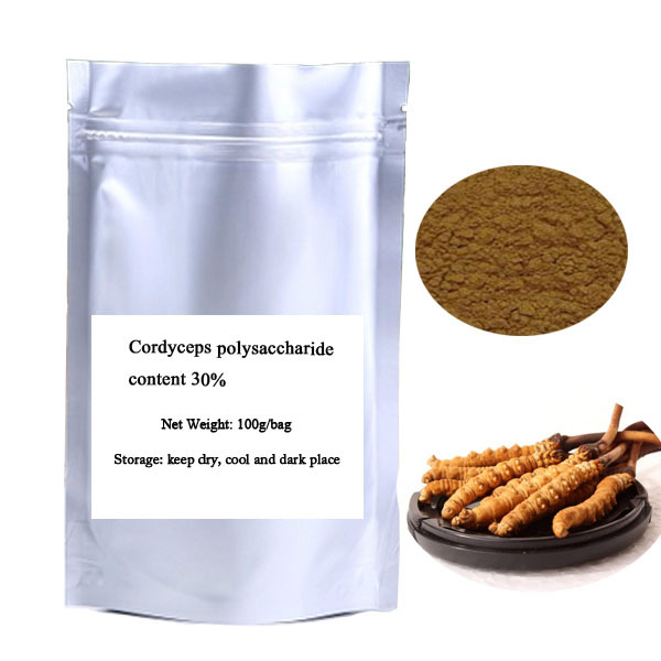 Free Shipping 100g Cordyceps polysaccharide content 30%