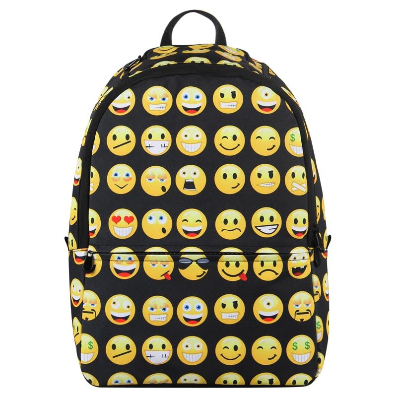 c240f05ba0 veevanv Hynes Eagle Cute Emoji Backpack Cool Kids Backpack Child Emoji Backpack  School Backpacks Bookbag Printed Students Bag-in Backpacks from Luggage ...