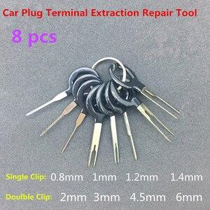 Image 1 - 18 個自動車プラグ回路基板ワイヤーハーネス端子抽出分解圧着ピンバック針削除ツールキット