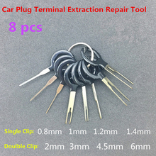 18pcs Auto Car Plug Circuit Board Wire Harness Terminal Extraction Disassembled Crimp Pin Back Needle Remove Tool Kit