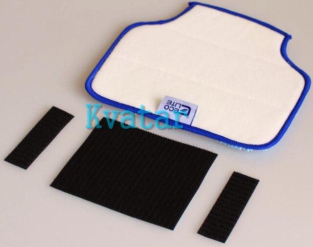 (12 pcs/lot) Mopping Cloth for Neato Robotics XV-11 XV-12 XV-14 XV-15 XV-21 Botvac D85 D80 D75 85 70e Microfiber cleaning Pad
