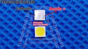 Image 1 - رقائق إضاءة خلفية مزدوجة من JUFEI بتقنية LED 3 واط 3 فولت 3030 إضاءة خلفية بيضاء باردة من 01.JB. مصباح إضاءة إل سي دي لتطبيق التلفزيون والتلفاز