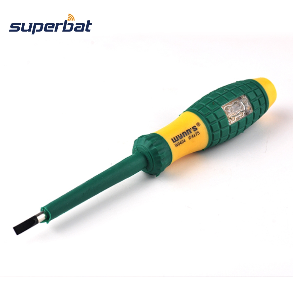 MAINS TESTER SCREWDRIVER LONG with High Quality Guarantee
