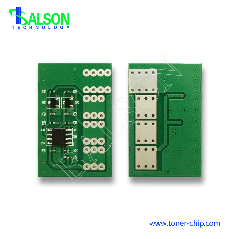Compatible color toner cartridge chip resetter for Dell 3670