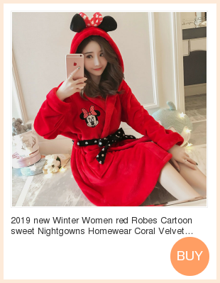 Plus Size 3XL 4XL 5XL Pajamas for women 2019 Winter Thicken Flannel pyjamas Long-sleeve lovely Sleepwear Coral Fleece Nightgowns 148