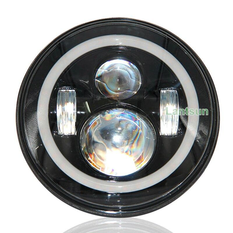Cair j022 DOT 40w 7inch hi / lo Lang projektorlu işıq projektoru - Avtomobil işıqları - Fotoqrafiya 3